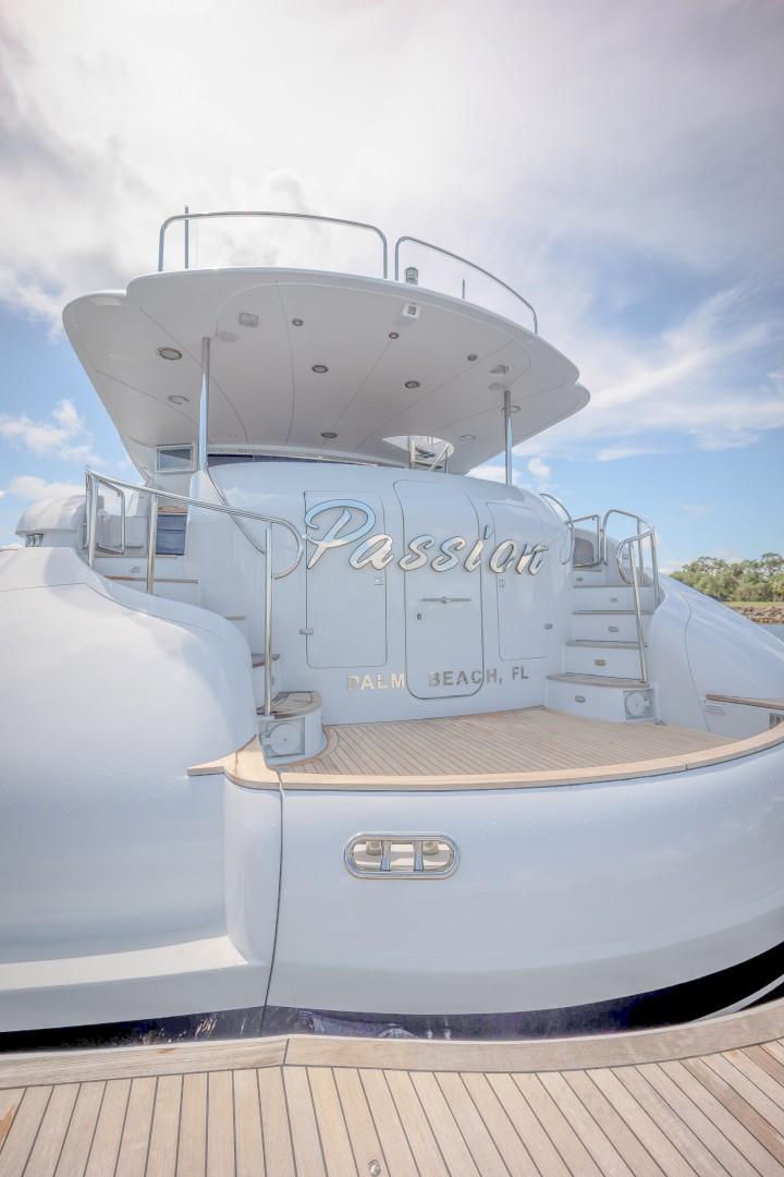 Lazzara 106 - Passion - Transom Deck