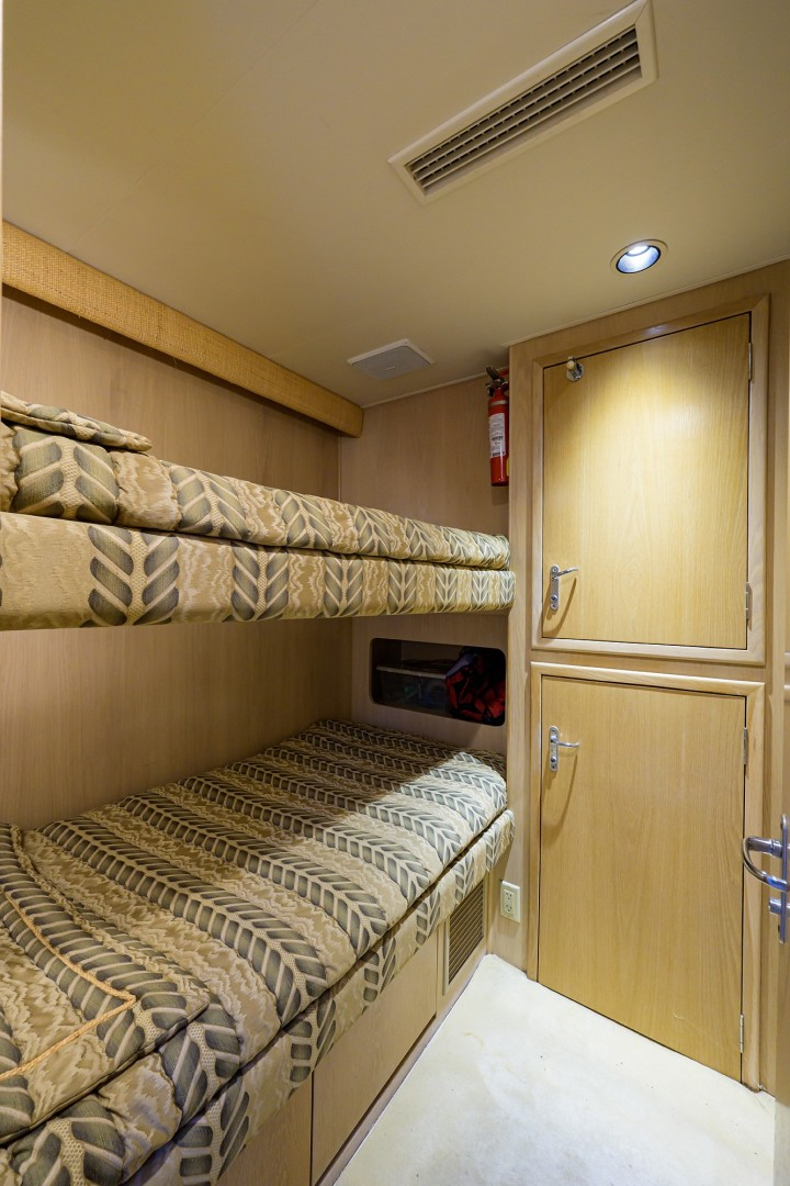 Hatteras 70 - Gypsy Rose - Guest Stateroom
