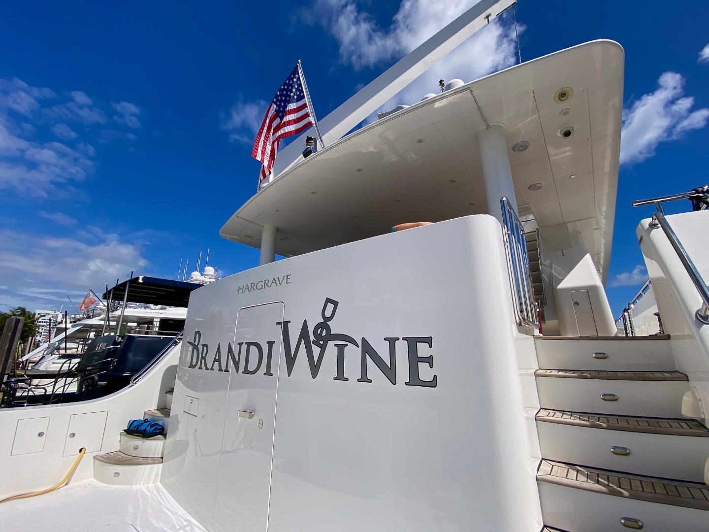 Brandi Wine 114ft Hargrave Yacht For Sale
