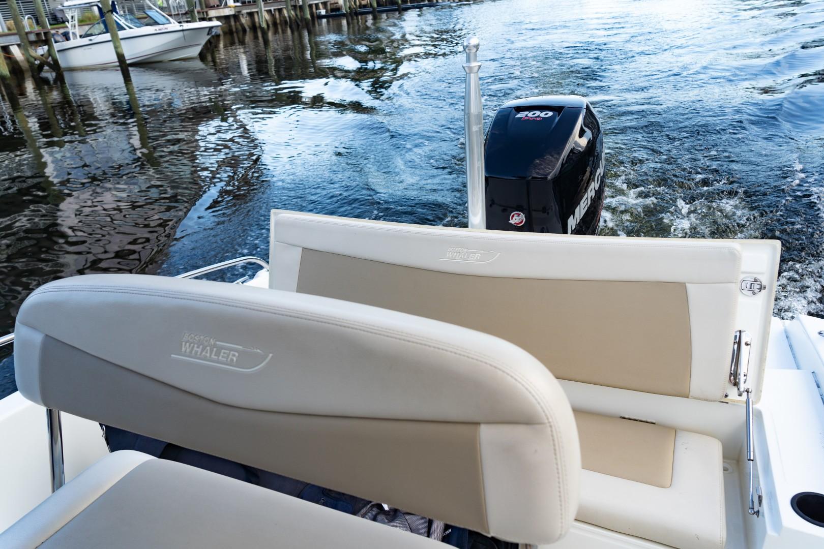 Boston Whaler 21 - Aft Seating