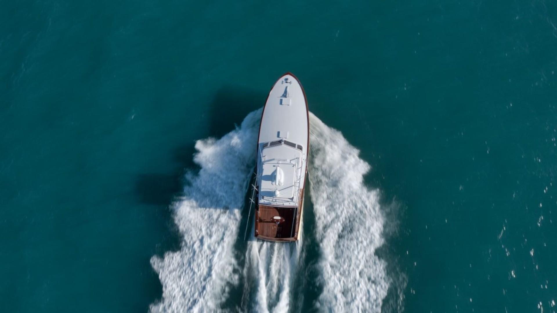 Rybovich 45 - Cygnet - overhead