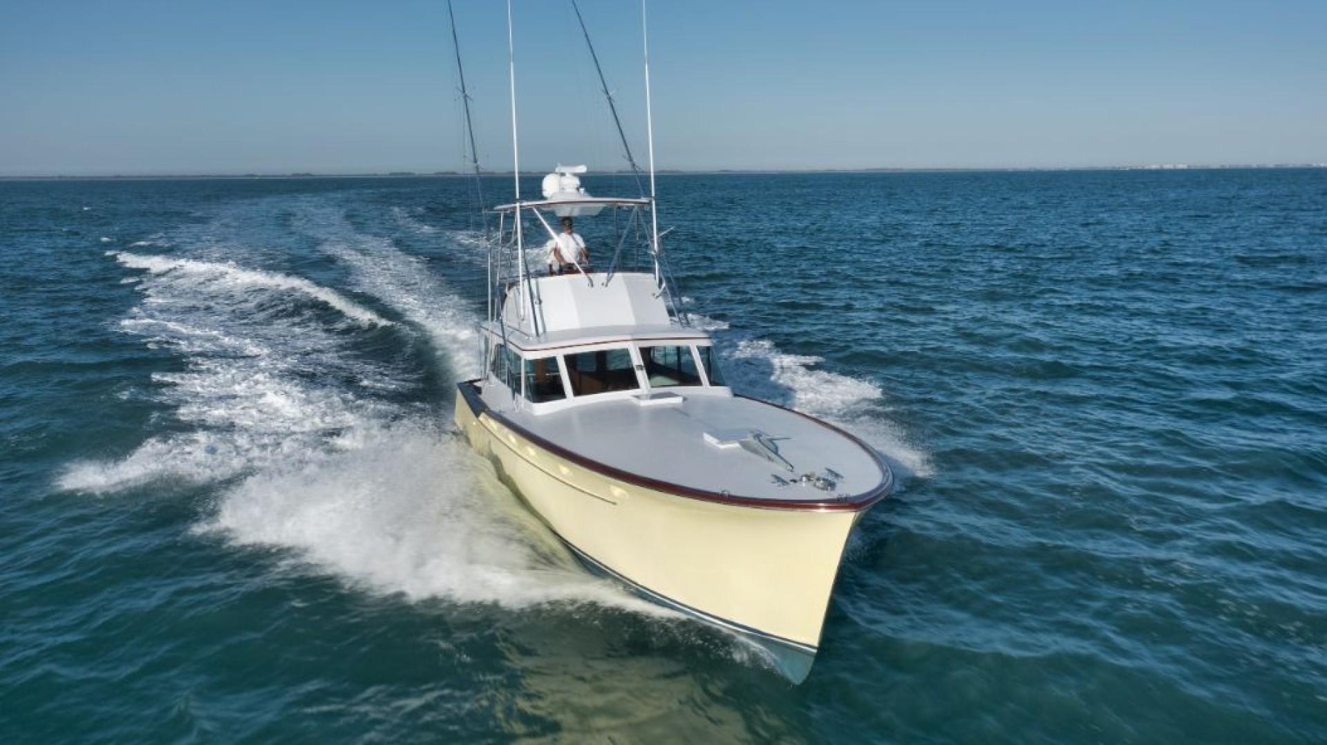 Rybovich 45 - Cygnet - exterior bow