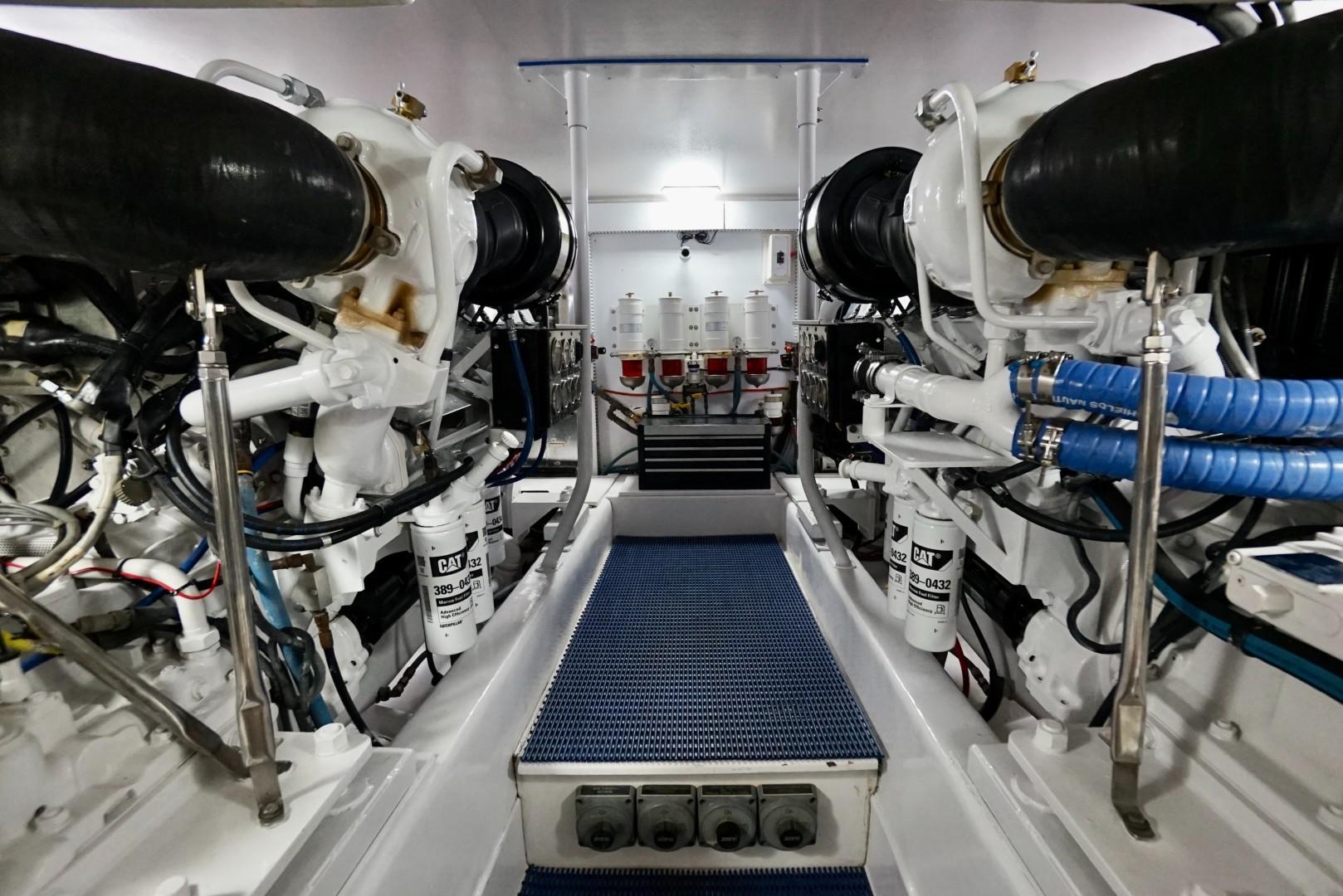 Ocean 73 - Sandra C - Engine Room