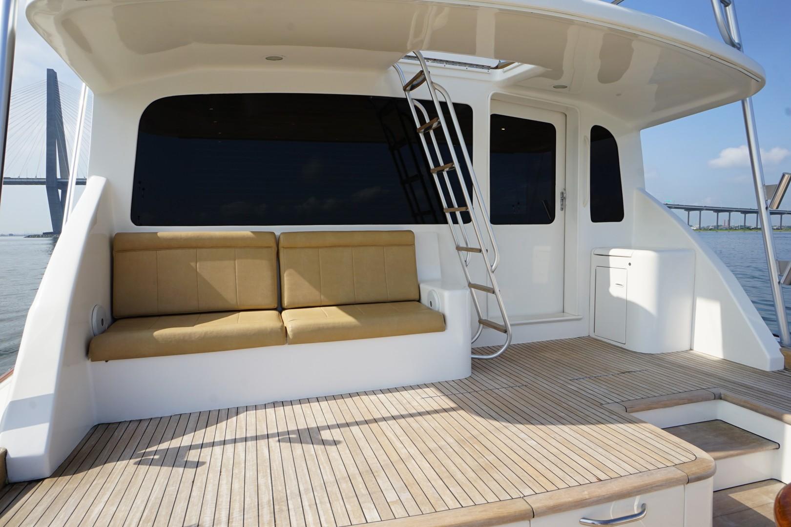 Ocean 73 - Sandra C - Aft Deck