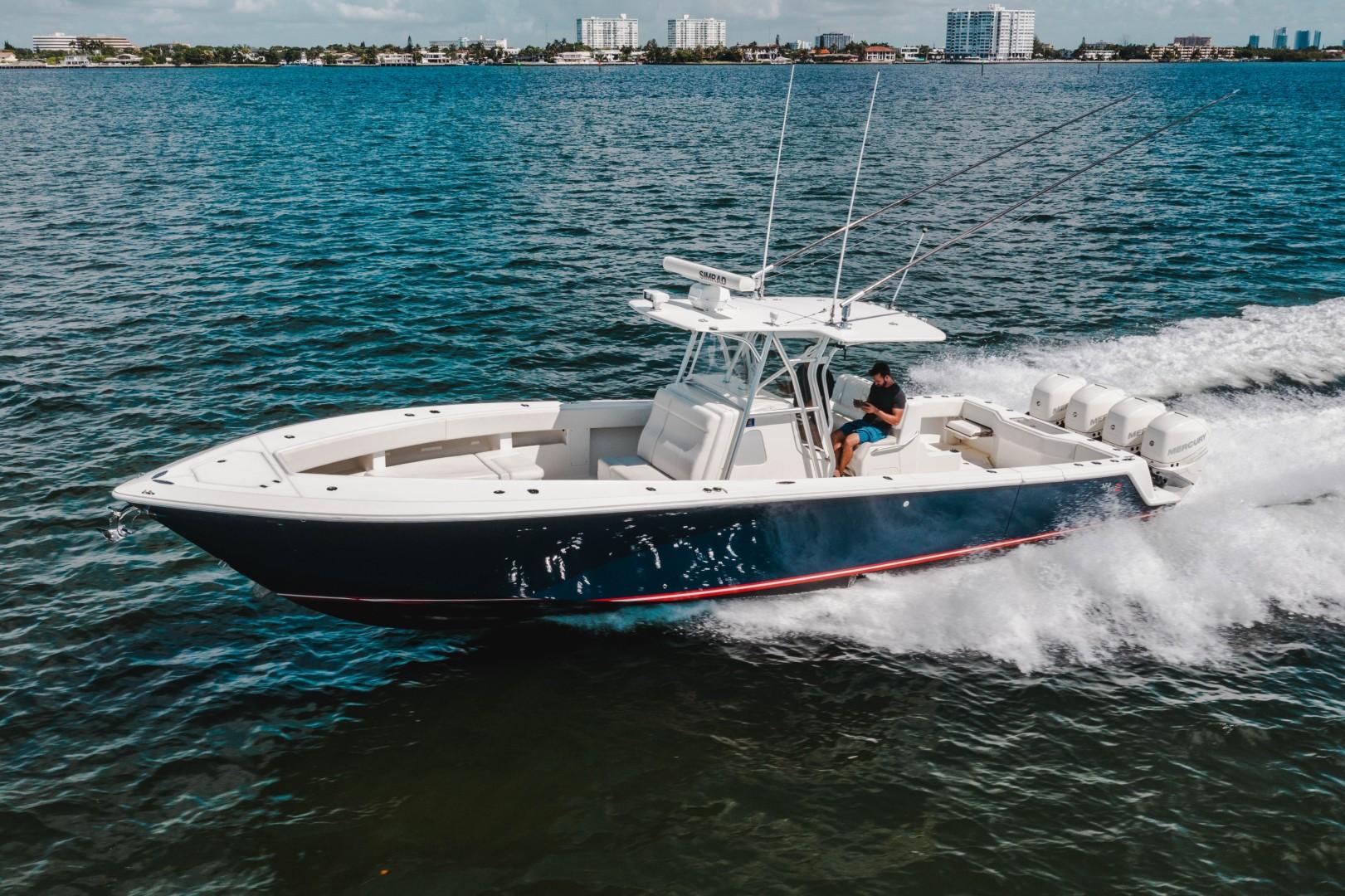 SeaVee 39 - Exterior Profile