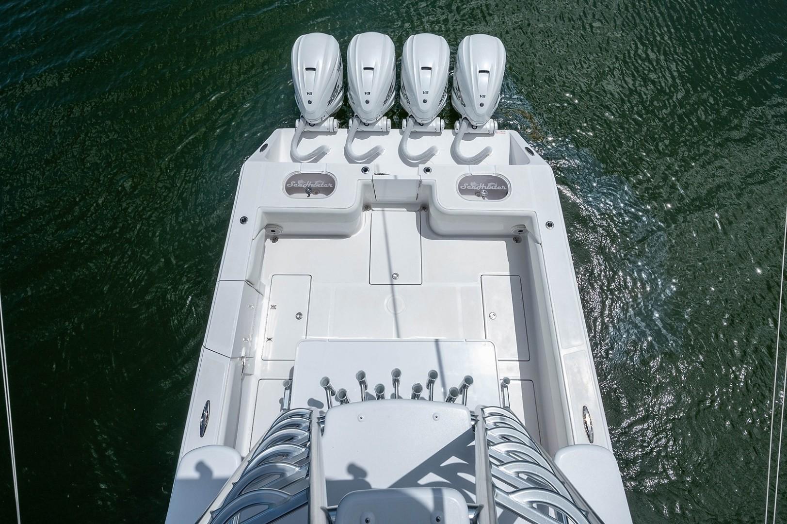 SeaHunter 45 - Medium Rare - Cockpit from Tower