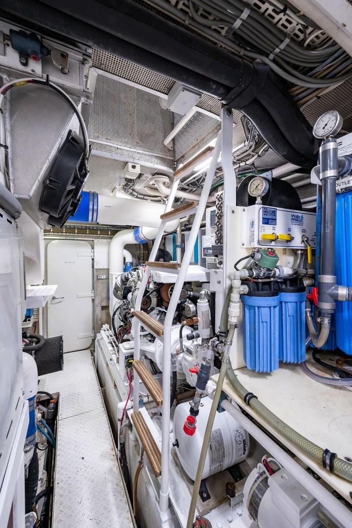 Jongert 78 - Fat Sheila - engineroom