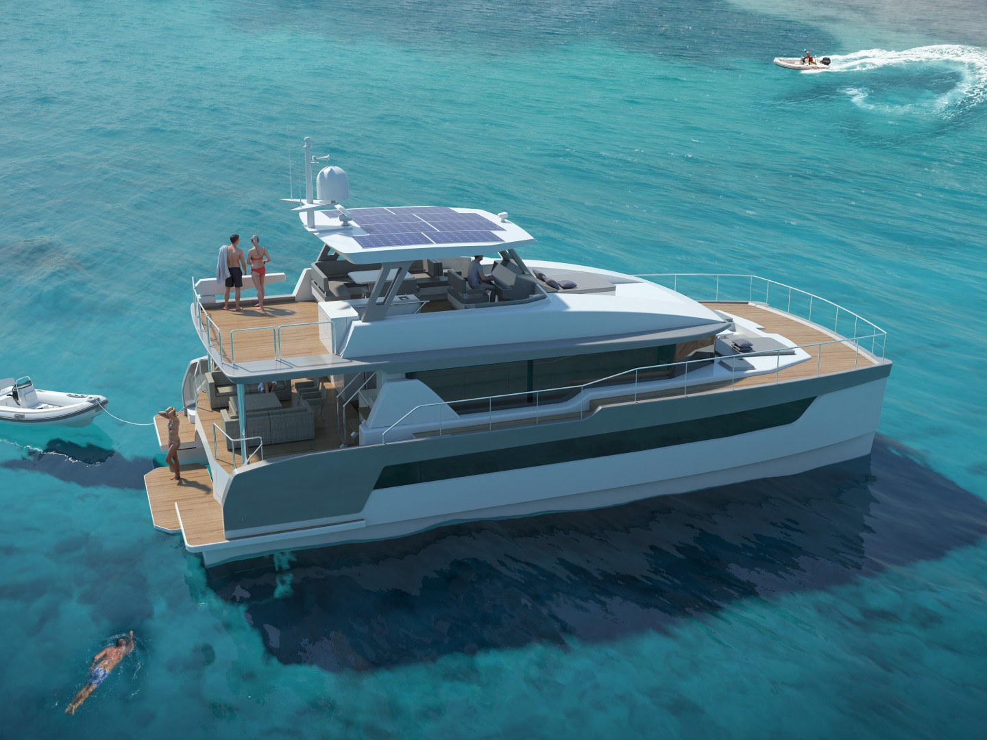 Two Oceans 55 - Exterior Profile