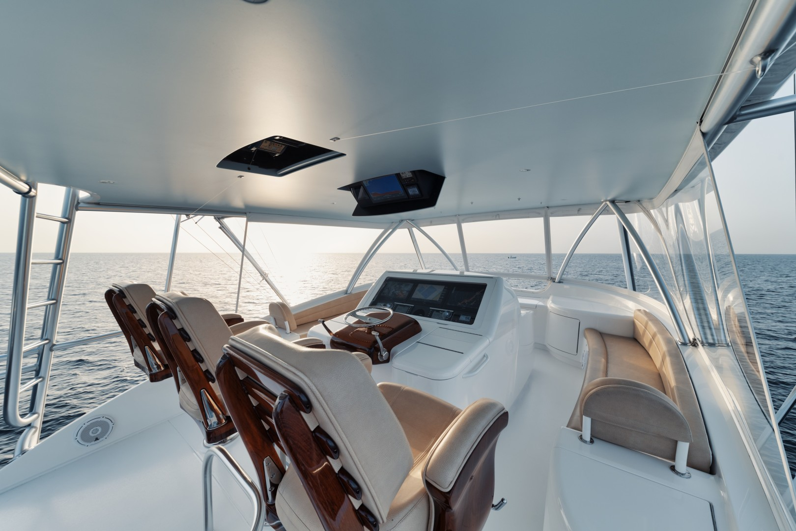 Viking 68 - Whirlwind - Flybridge Helm
