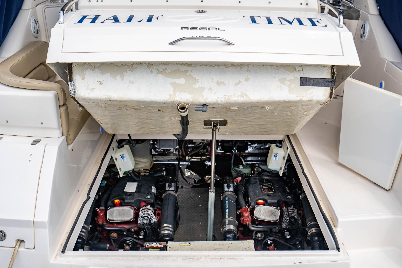 Regal 38 - Half Time - Engine Access