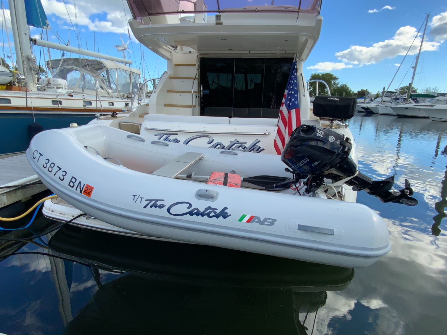 THE CATCH 42ft Princess Yacht For Sale