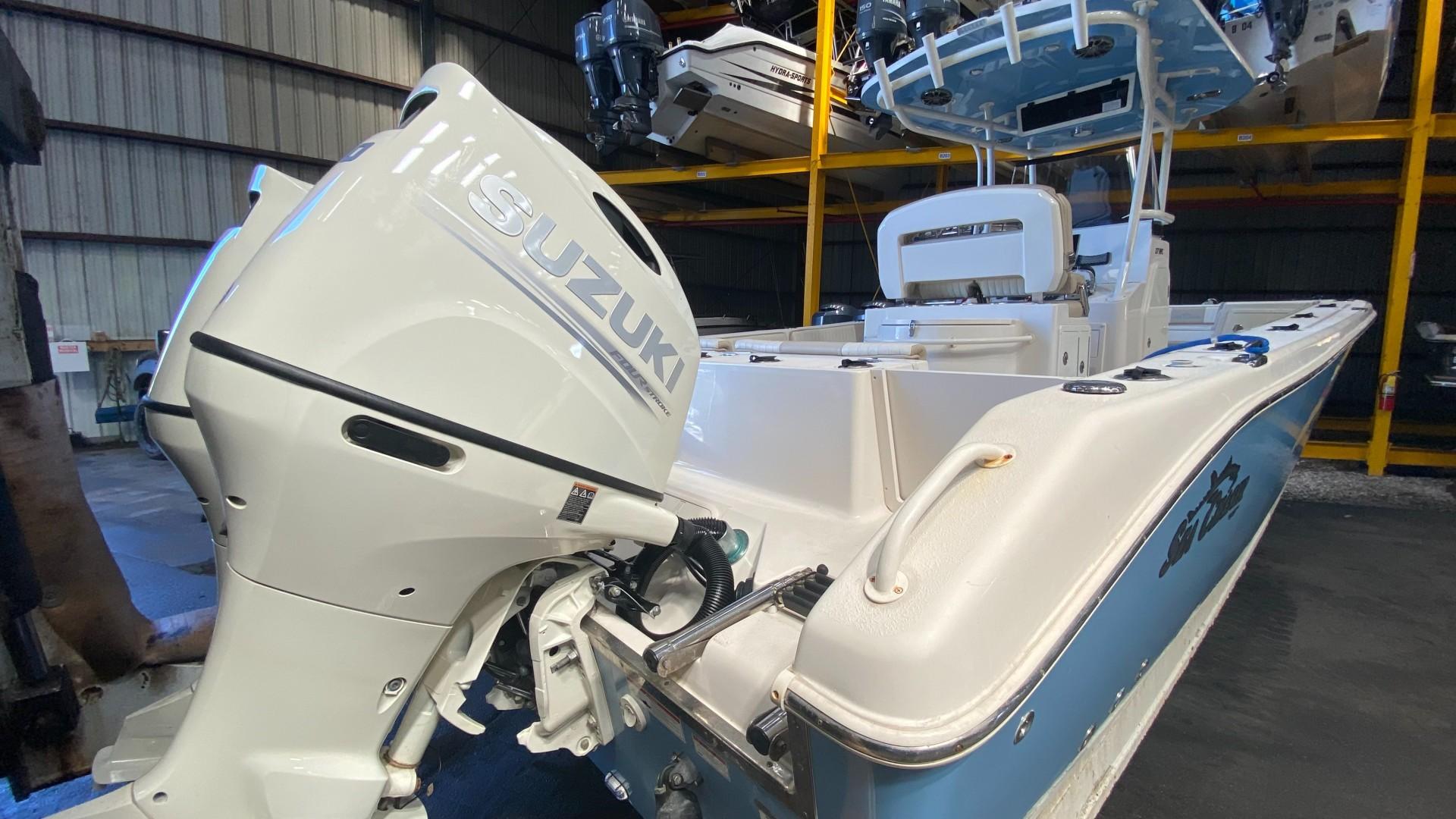 Sea Chaser 27 Transom profile