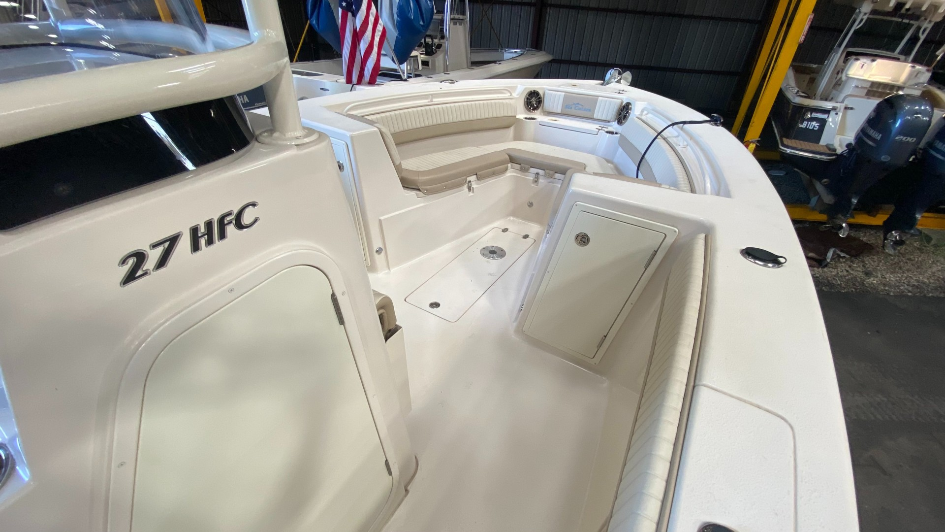 Sea Chaser 27 Starboard Bow