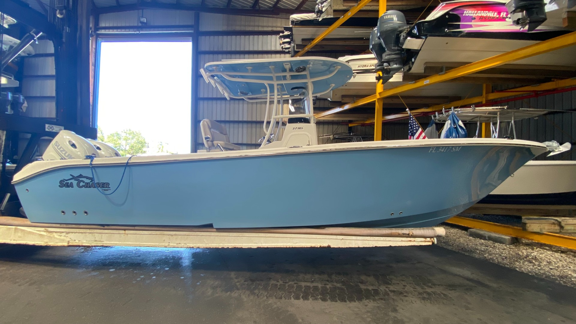 Sea Chaser 27 Starboard profile