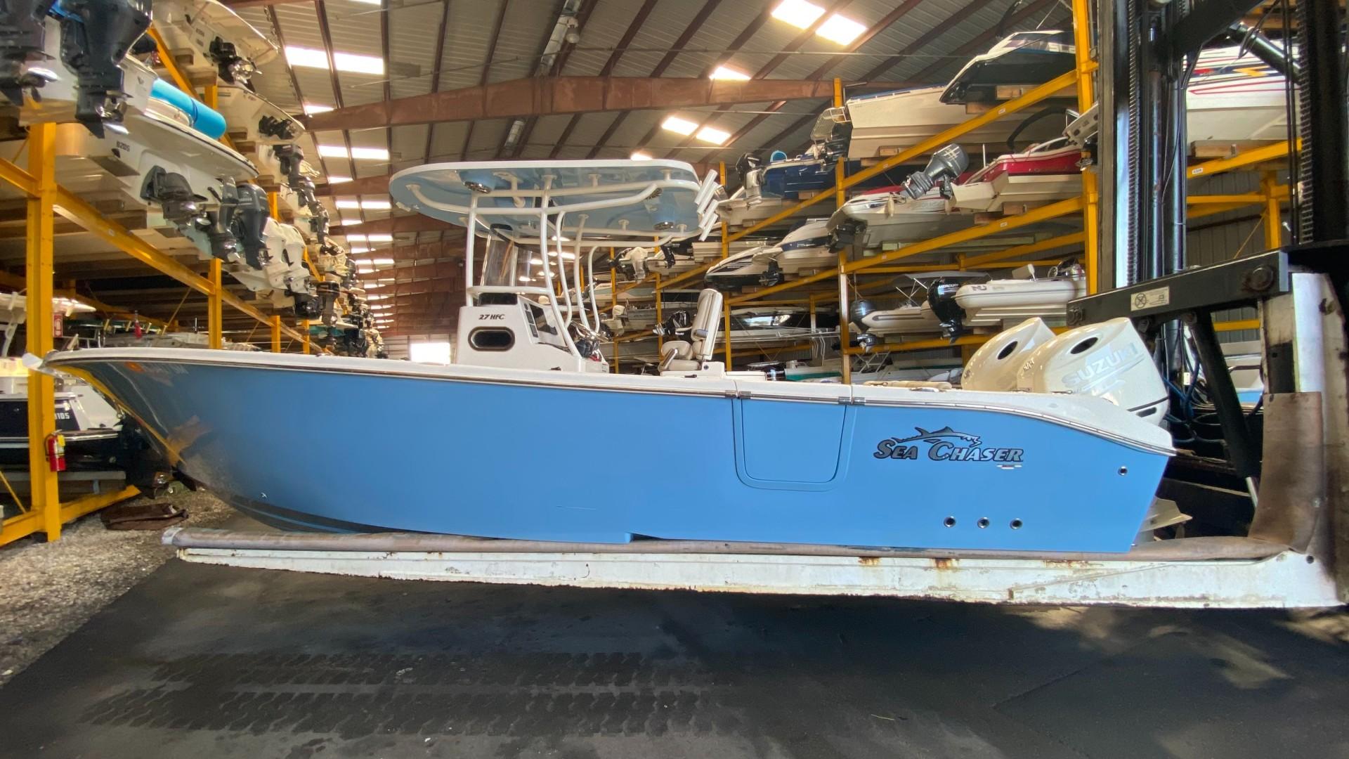 Sea Chaser 27 Port profile