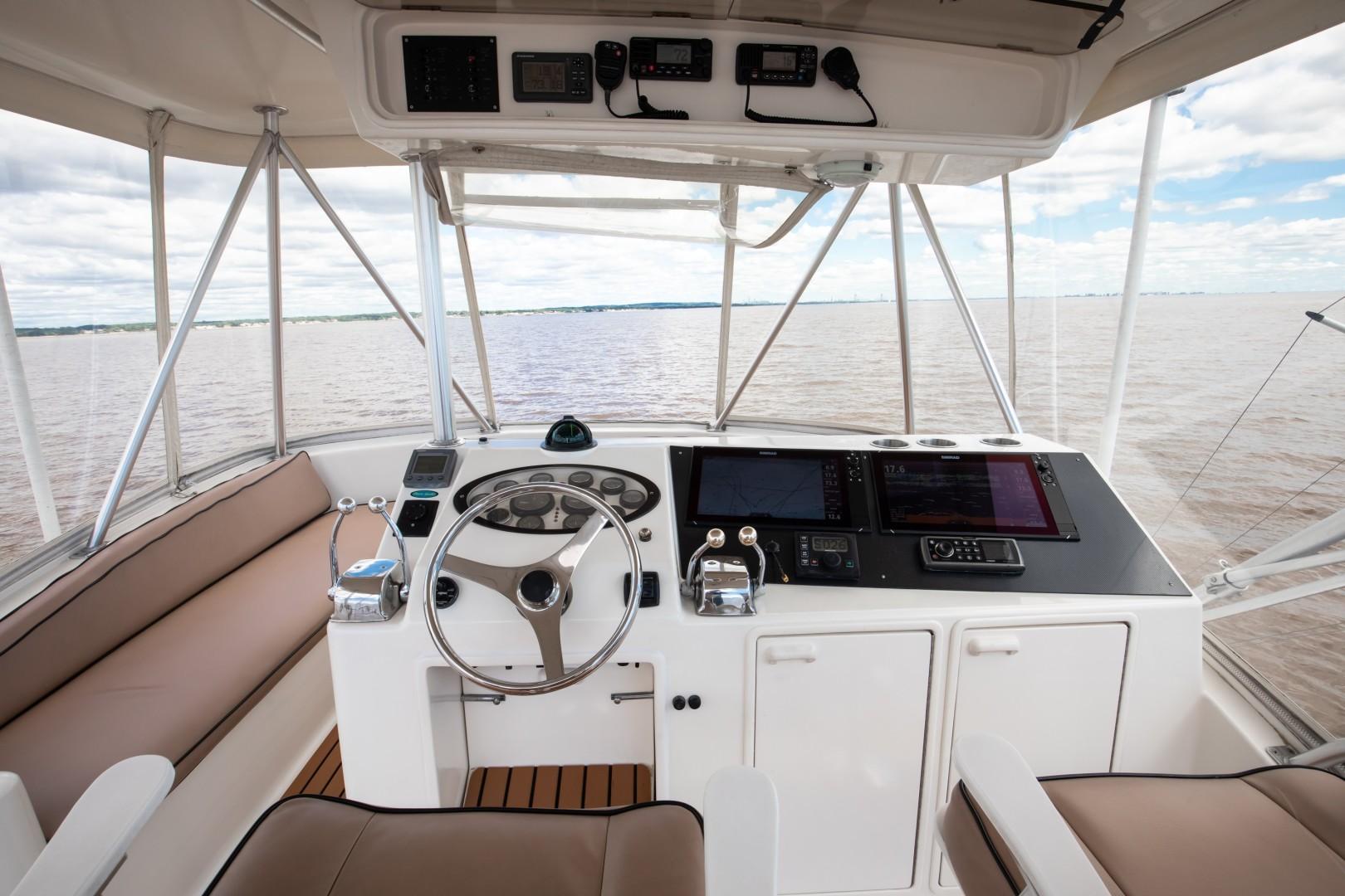 Ocean Yachts 40 - Top Shot - Tower Helm