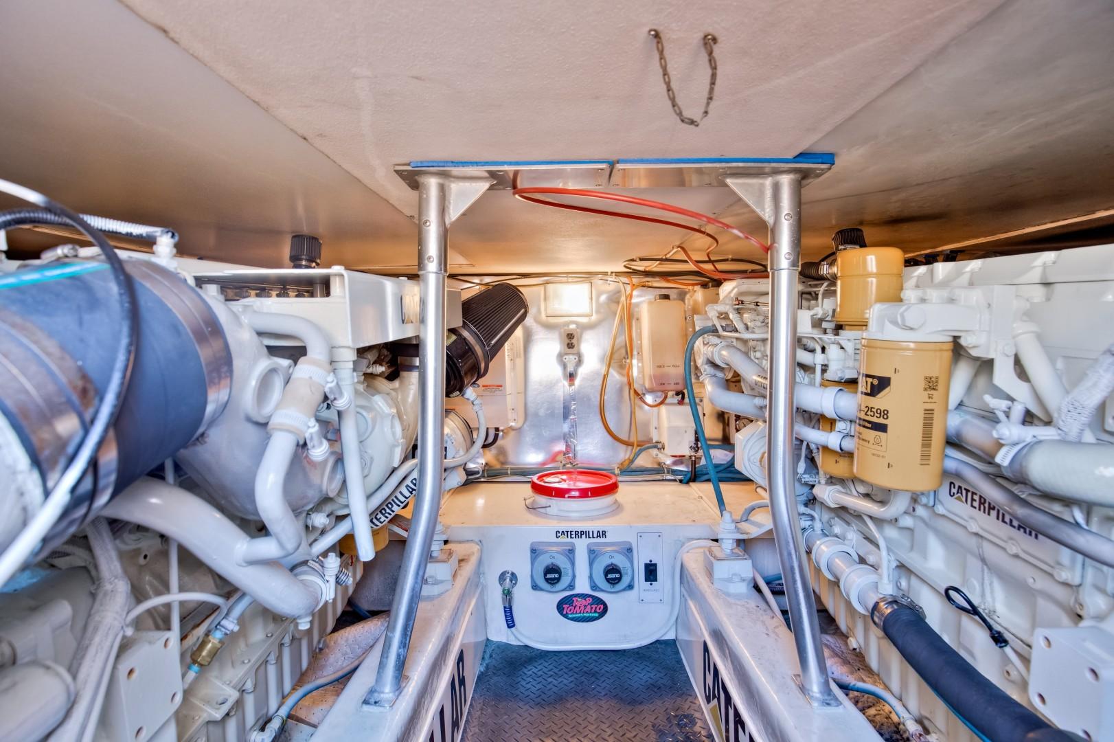 Ocean Yachts 40 - Top Shot - Engine Room