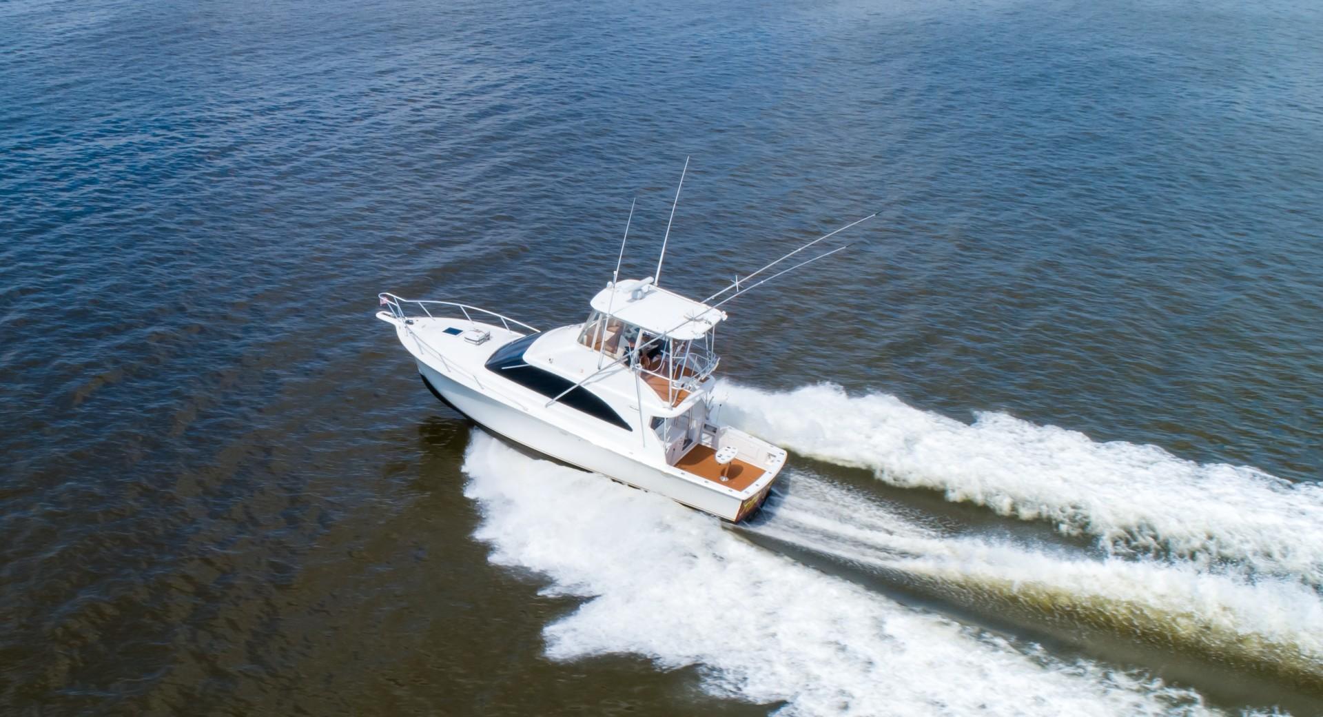 Ocean Yachts 40 - Top Shot - Exterior Profile