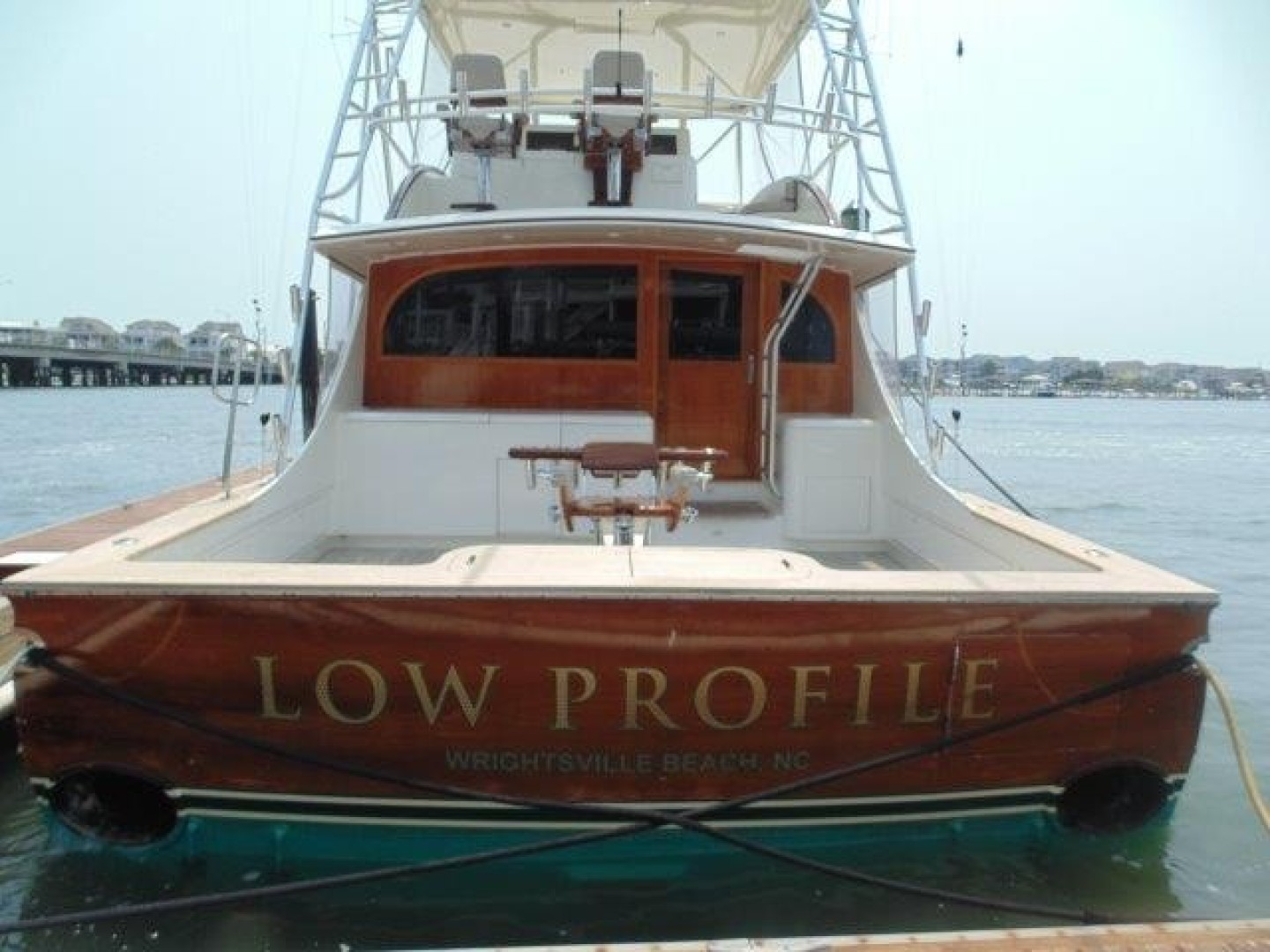 Ritchie Howell 65 LOW PROFILE - Transom