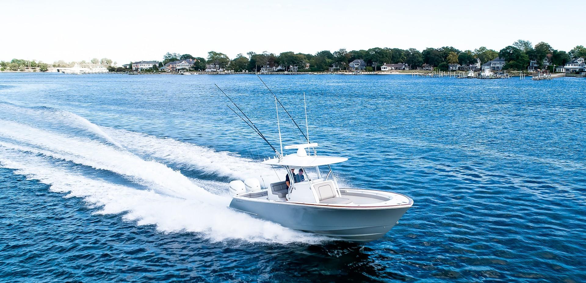 Valhalla Boatworks 33 - Front Profile