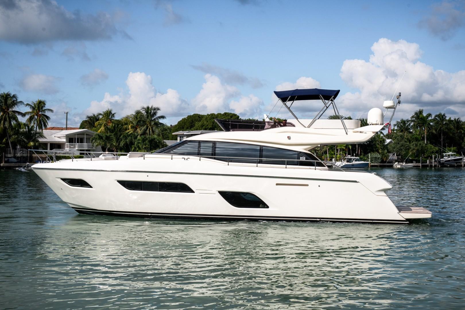 Ferretti Yachts 55 - Exterior Profile