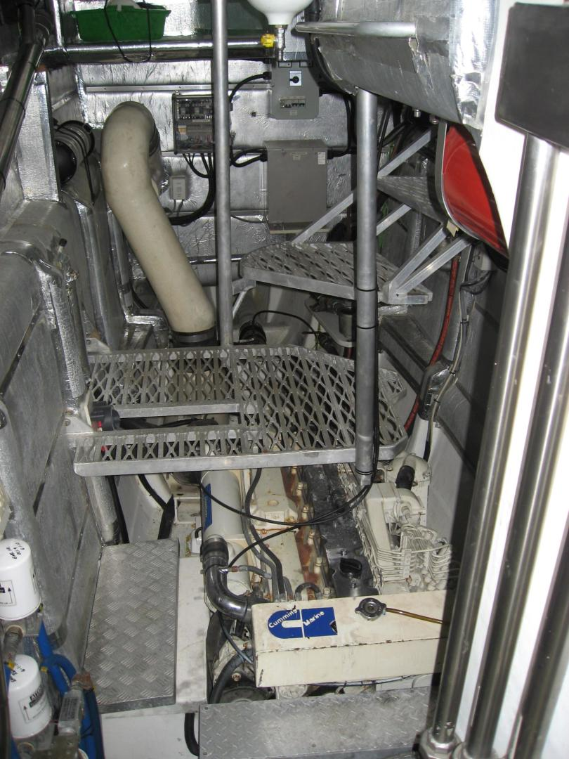Custom-Catamaran 2009-Bonefish Brunswick-Georgia-United States-Starboard Engine Room-610048 | Thumbnail