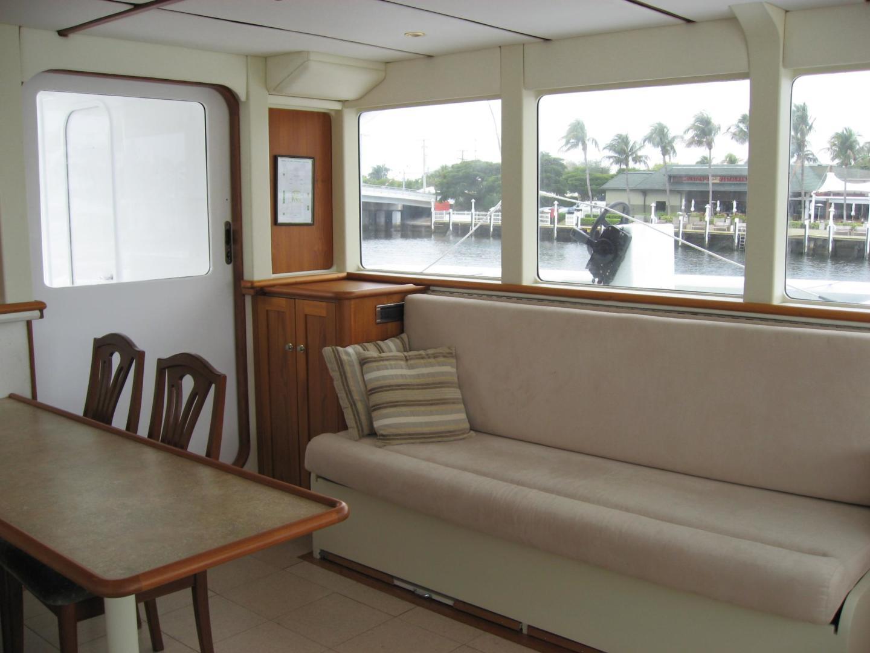 Custom-Catamaran 2009-Bonefish Brunswick-Georgia-United States-Helm Table & Settee-610042 | Thumbnail