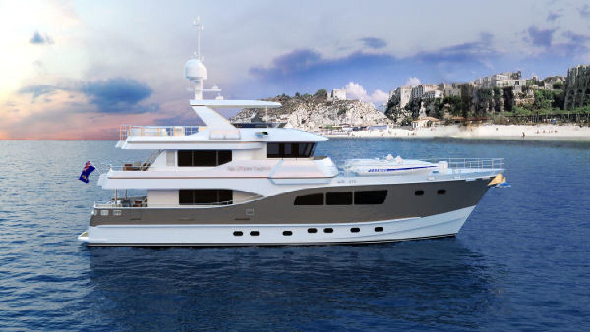Custom-Tri Deck Explorer Yacht 2020 -Unknown-Brazil-Beach view-862661 | Thumbnail