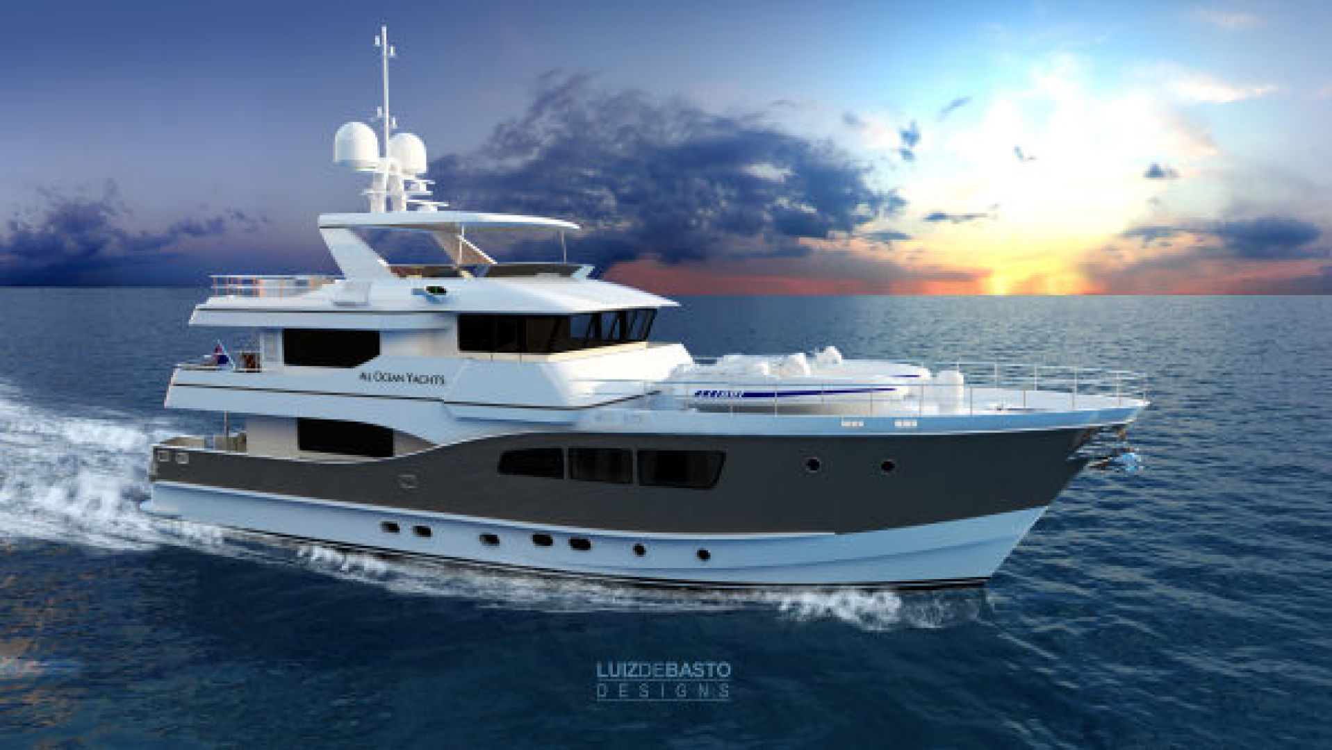 Picture Of: 90' Custom Tri Deck Explorer Yacht 2020 Yacht For Sale | 1 of 23