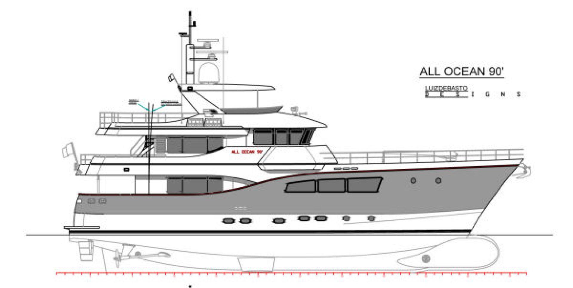 Custom-Tri Deck Explorer Yacht 2020 -Unknown-Brazil-Profile-862651 | Thumbnail