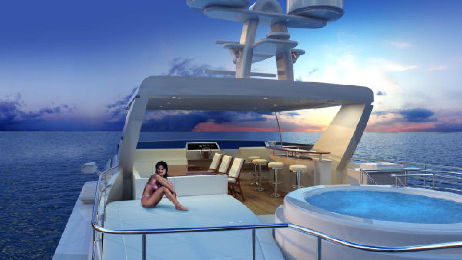 Custom-Tri Deck Explorer Yacht 2020 -Unknown-Brazil-Flybridge-862663 | Thumbnail