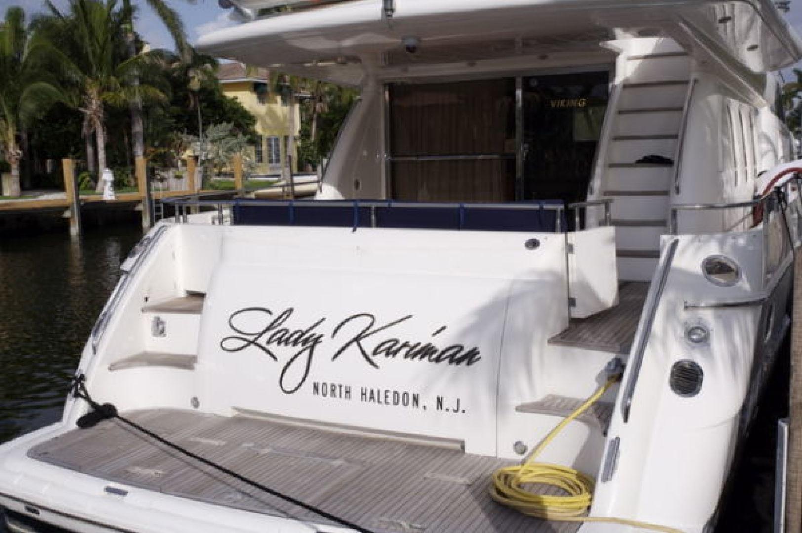 Viking-Sport Cruiser 1999-LADY KARIMAN Fort Lauderdale-Florida-United States-Stern-617608 | Thumbnail