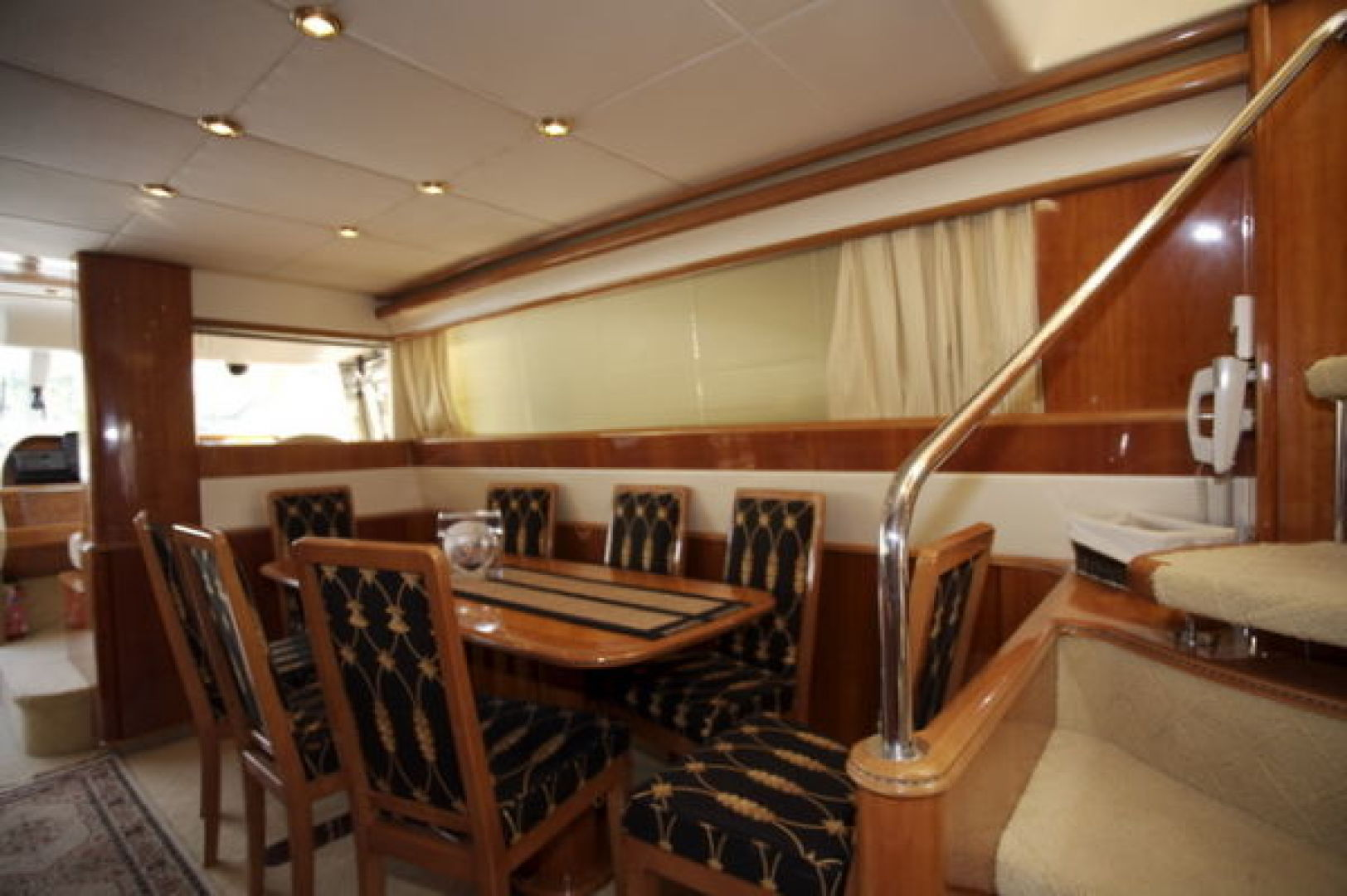 Viking-Sport Cruiser 1999-LADY KARIMAN Fort Lauderdale-Florida-United States-Main Salon/Dining-617595 | Thumbnail