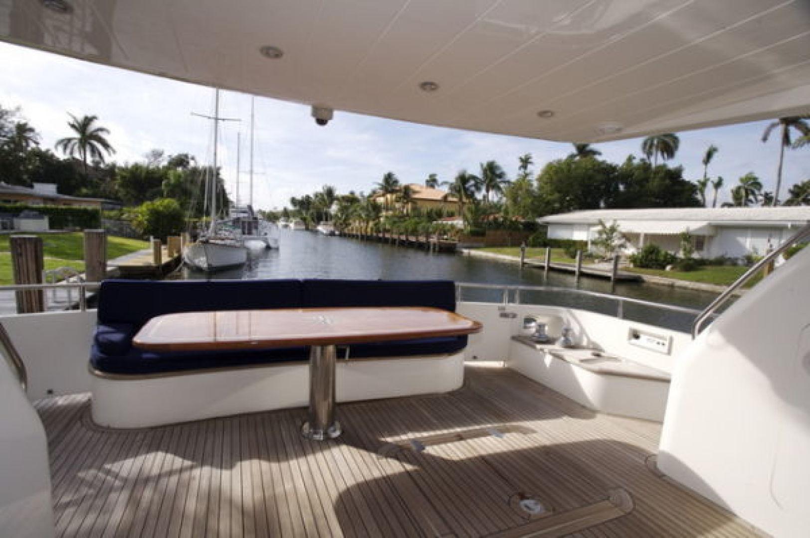 Viking-Sport Cruiser 1999-LADY KARIMAN Fort Lauderdale-Florida-United States-Aft Deck-617604 | Thumbnail