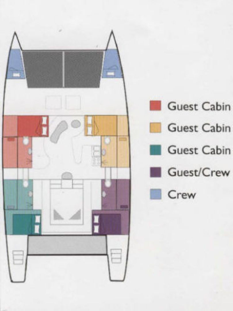Picture Of: 60' Catamaran Custom Commercial Term Charter Catamaran 60 1999 Yacht For Sale | 2 of 16