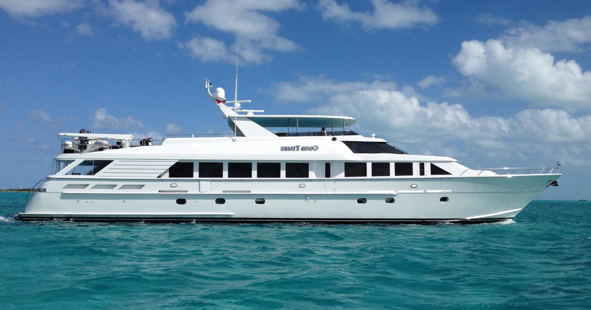 GOOD TIMES is a Hatteras Raised Pilothouse MY Yacht For Sale in Ft. Lauderdale-114' Hatteras Motor Yacht-0