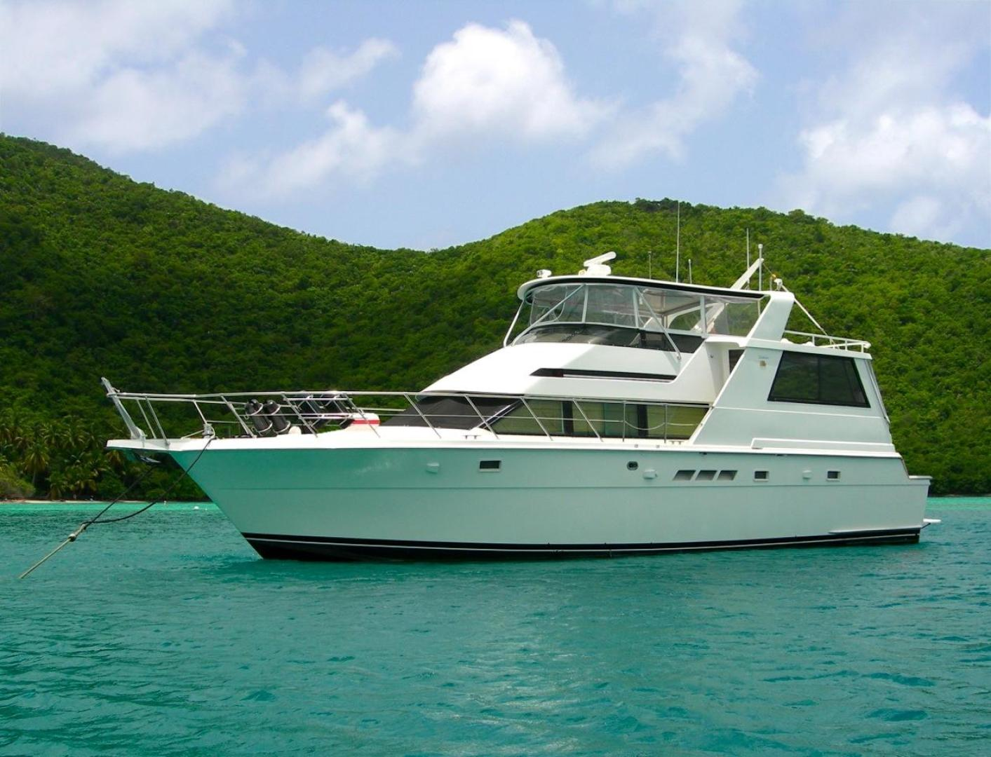 Picture Of: 52' Hatteras Motor Yacht Fly Bridge 1997 Yacht For Sale | 1 of 23