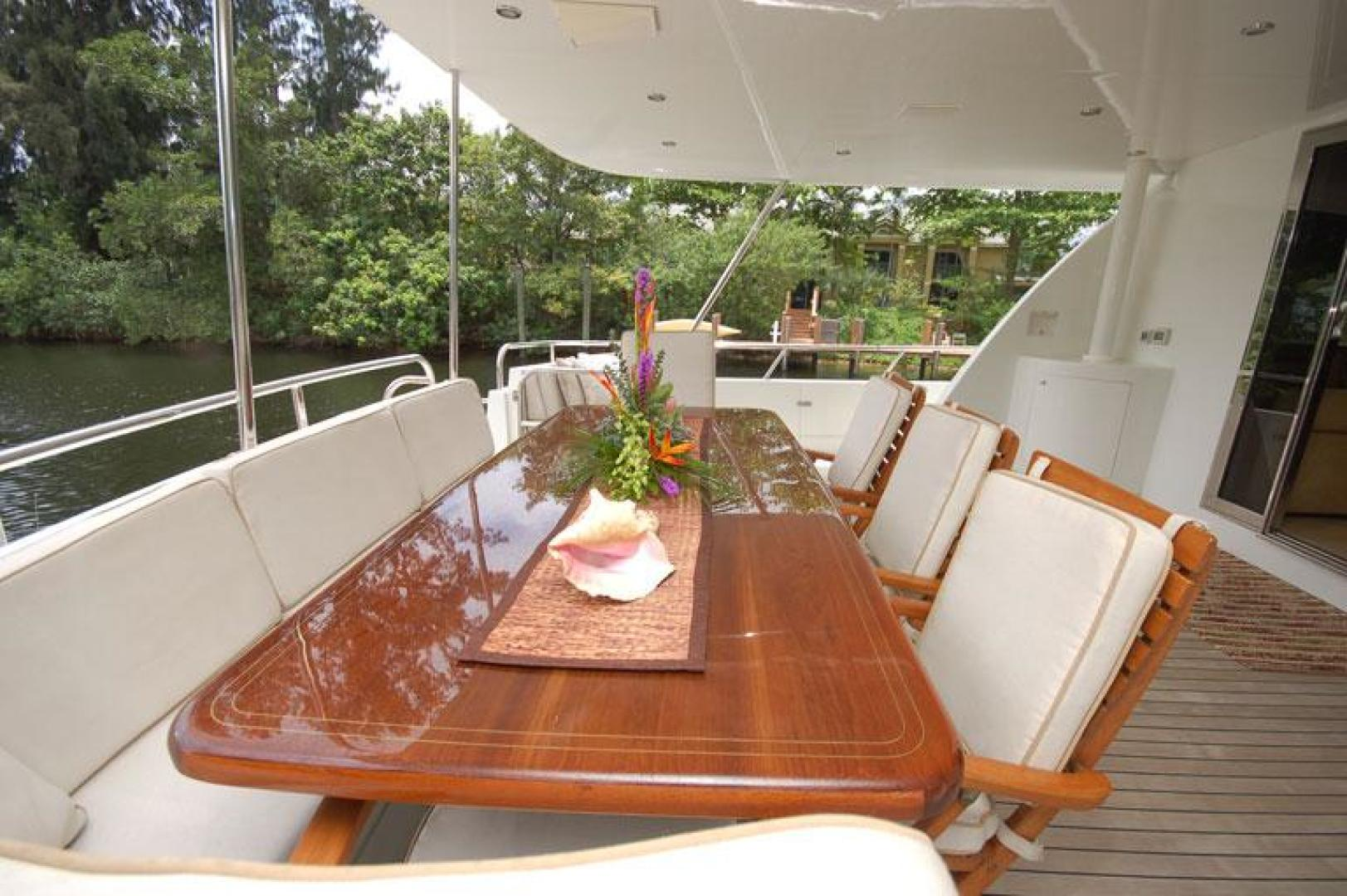 Cheoy Lee-Motor Yacht 1999-YOLY FORT LAUDERDALE-Florida-United States-Aft Deck-610115 | Thumbnail