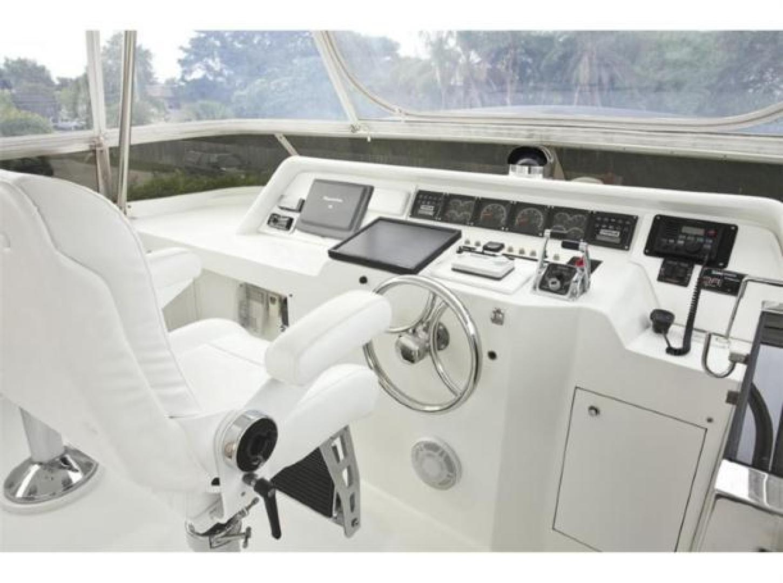 Cheoy Lee-Motor Yacht 1999-YOLY FORT LAUDERDALE-Florida-United States-Flybridge Helm-610104 | Thumbnail