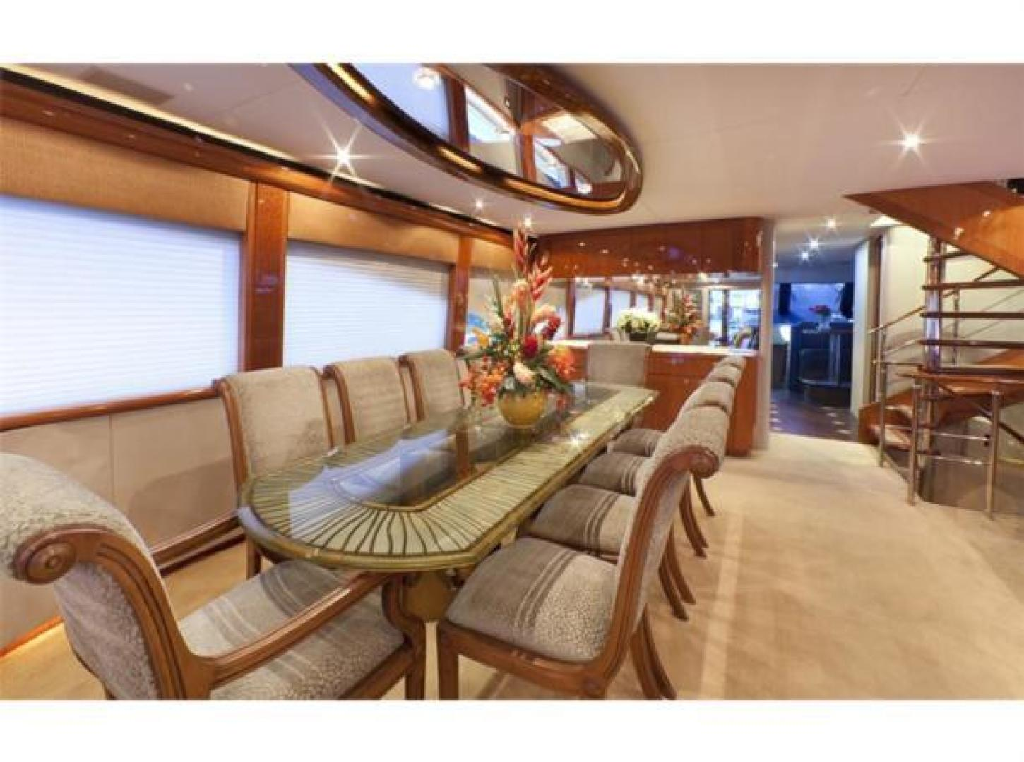 Cheoy Lee-Motor Yacht 1999-YOLY FORT LAUDERDALE-Florida-United States-Dining-610099 | Thumbnail