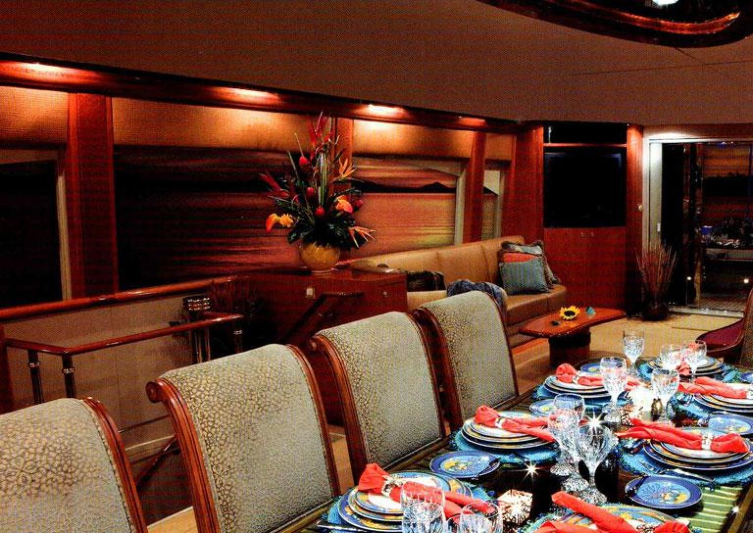 Cheoy Lee-Motor Yacht 1999-YOLY FORT LAUDERDALE-Florida-United States-Dining-610114 | Thumbnail