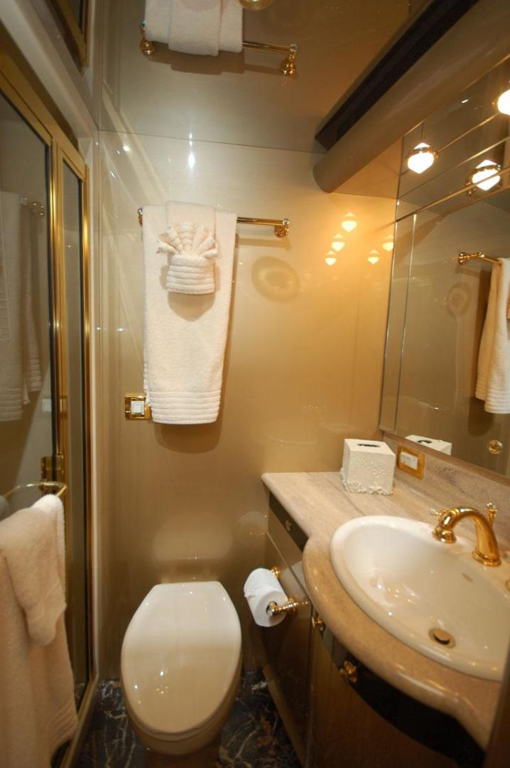 Cheoy Lee-Motor Yacht 1999-YOLY FORT LAUDERDALE-Florida-United States-Guest Bathroom-610128 | Thumbnail