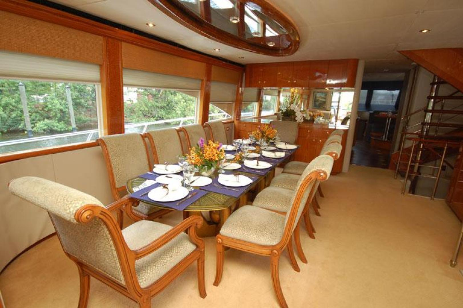 Cheoy Lee-Motor Yacht 1999-YOLY FORT LAUDERDALE-Florida-United States-Dining-610121 | Thumbnail