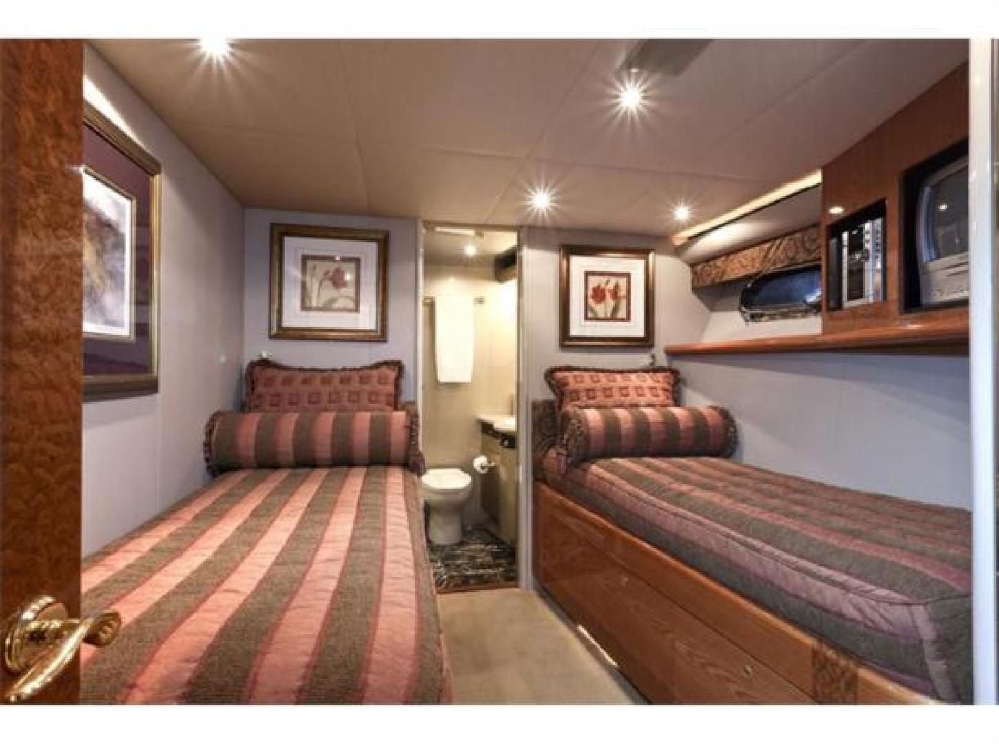 Cheoy Lee-Motor Yacht 1999-YOLY FORT LAUDERDALE-Florida-United States-Guest Stateroom-610110 | Thumbnail
