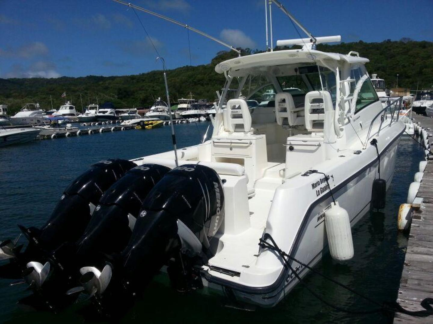 Picture Of: 34' Boston Whaler Conquest 345 2012 Yacht For Sale   2 of 13