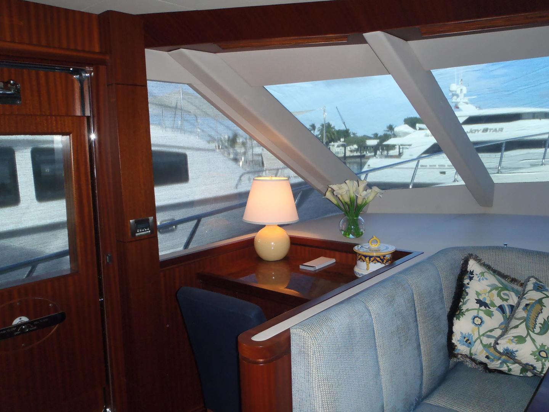 Ocean Alexander-Sky Lounge 2013-Risky Business Singer Island-Florida-United States-Fwd Galley Desk-519046 | Thumbnail
