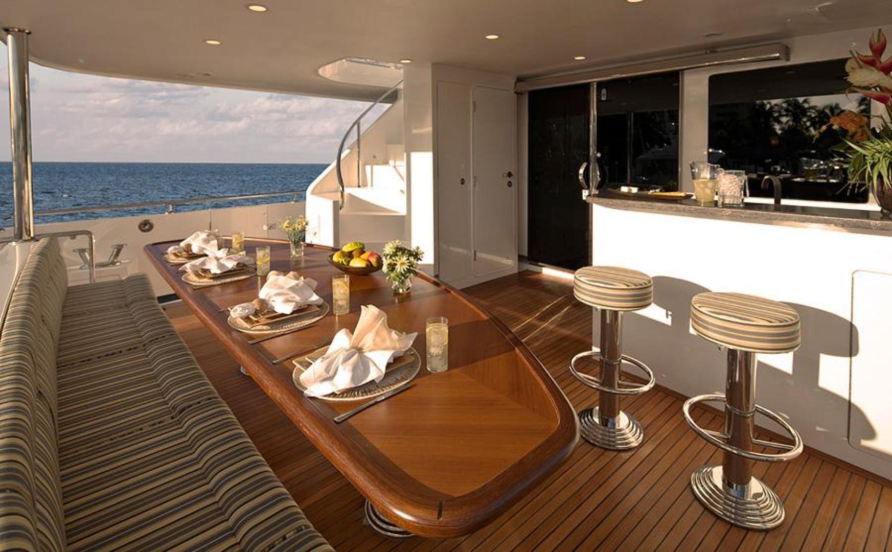 Ocean Alexander-Sky Lounge 2013-Risky Business Singer Island-Florida-United States-Aft Main Deck-519031 | Thumbnail