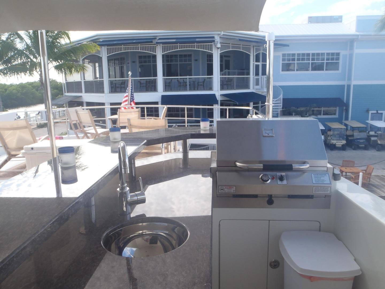 Ocean Alexander-Sky Lounge 2013-Risky Business Singer Island-Florida-United States-Aft Flybridge Deck-519037 | Thumbnail