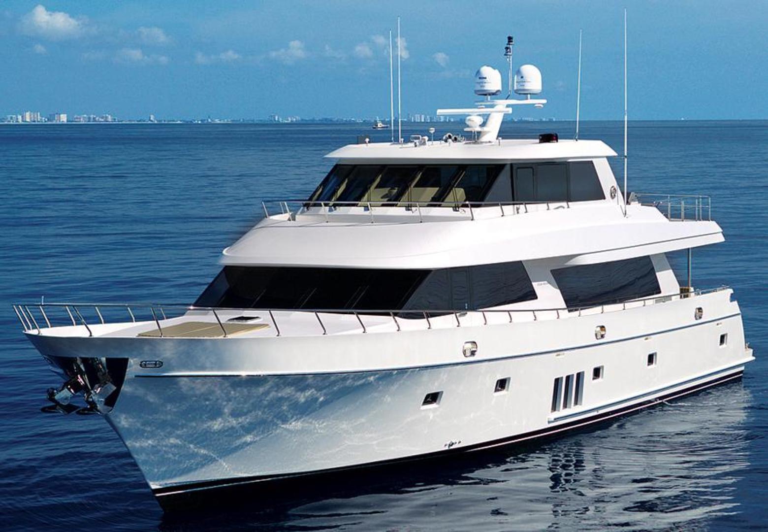Ocean Alexander 90' Sky Lounge 2013  Risky Business