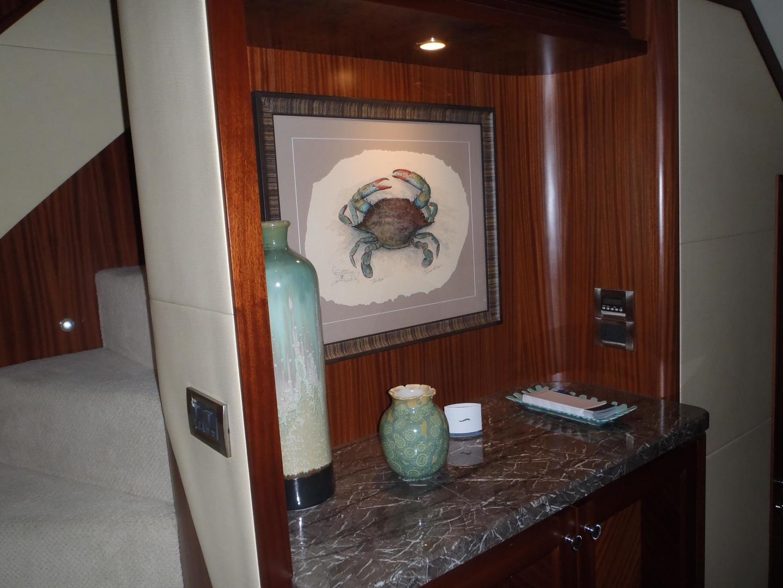 Ocean Alexander-Sky Lounge 2013-Risky Business Singer Island-Florida-United States-Owner & Guest Foyer-519050 | Thumbnail